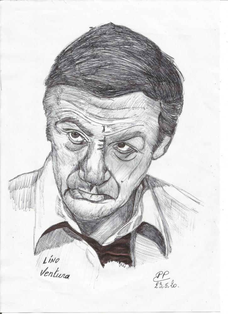 Lino Ventura by Patoux